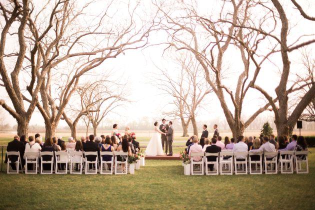 Outdoor Weddings Brazos Valley Wedding Planning: A Colorful Open-Air Wedding In Wharton, Texas