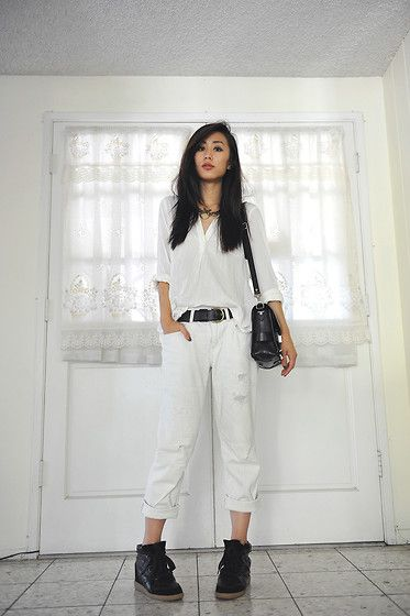 White by accident (by Jenny Ong) http://lookbook.nu/look/3966758-white-by-accident