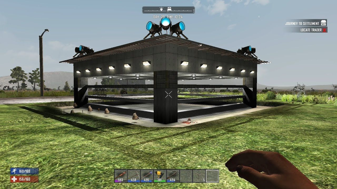 Image Result For 7 Days To Die Base 7 Days To Die Outdoor Structures I Am Awesome