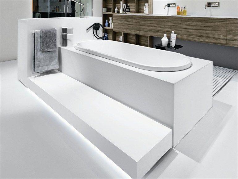 Vasca Da Bagno Spagnolo : Corian® bathtub street vasche da bagno collection by makro design