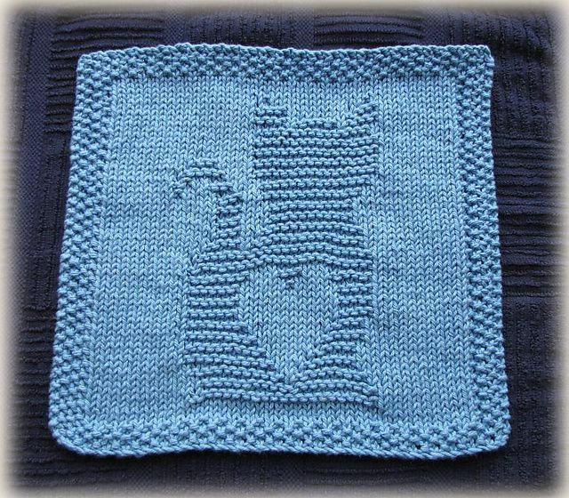 Ravelry Kitty Love Washcloth Pattern By Cheryl Lacey Knits For My