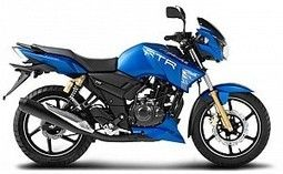 Tvs Apache Rtr 180 Matte Blue Edition Rtr Apache Bike Prices