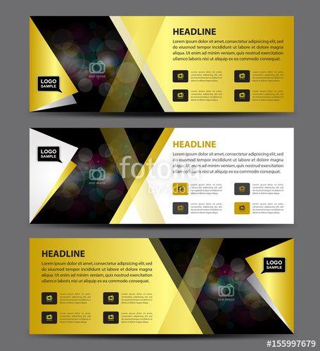 Vector Cosmetics Banner designTemplate vector, horizontal banner - advertisement brochure