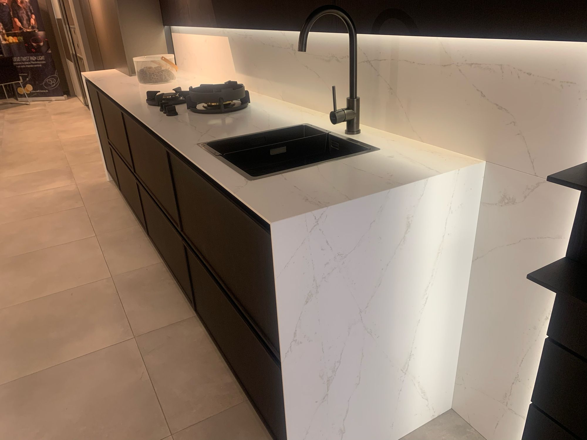 Lapitec Kitchen Worktop Lux Bianco Polare Lux Collection By