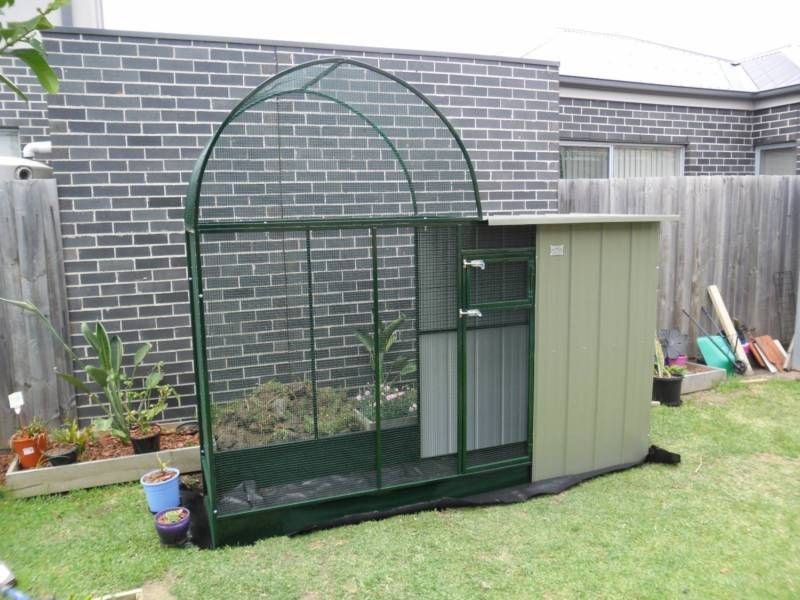NEW LARGE ROYAL AVIARY BA93R POWDER COATED Grn or Blk