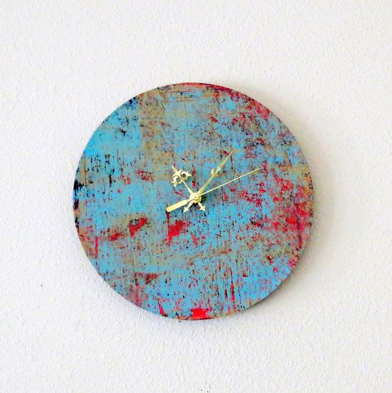 Large  Wall Clock Decor and Housewares Home and by Shannybeebo, $50.00