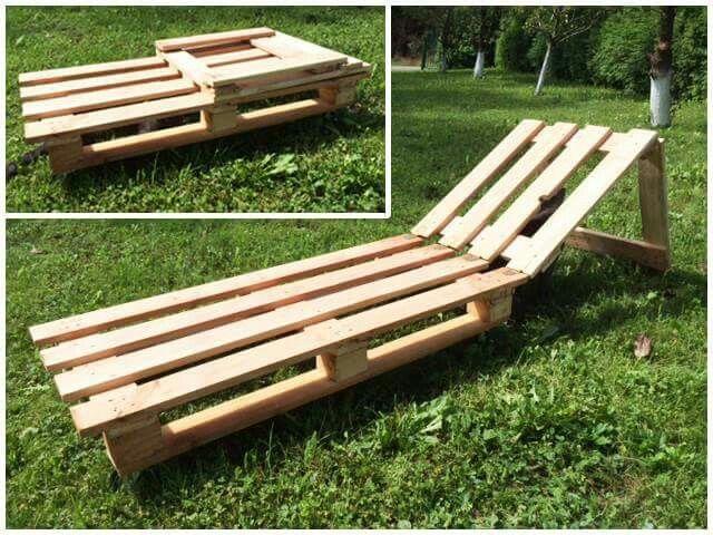 transat chaise en palette pinterest. Black Bedroom Furniture Sets. Home Design Ideas