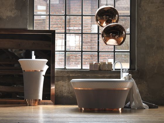 The perfectionists: falper pinterest industrial bathroom design