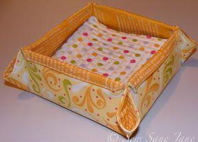 Diy Napkin Holders Hogar Dulce Hogar Pinterest Sewing Napkins