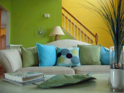 Cojines en la Sala | Ideas para decorar, diseñar y mejorar tu casa.