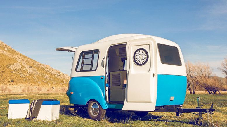 Happier Camper Hc1 Lightweight Mini Camping Trailer With