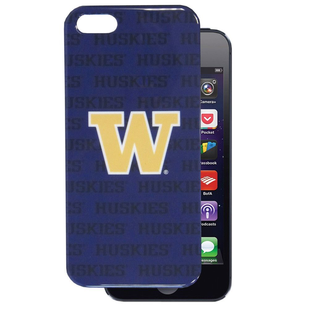Washington Huskies iPhone 5/5S Graphics Snap on Case