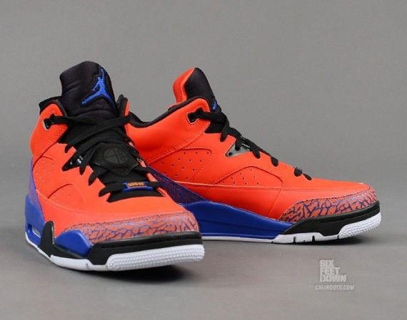 new arrival 4ac2b b89b3 Jordan Son of Mars Low  Knicks  New York Knickerbockers, Cheap Sneakers,  Sneakers