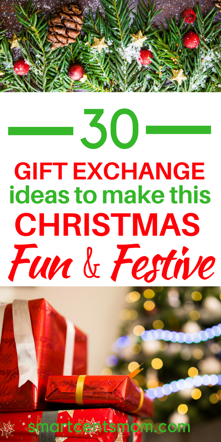 Christmas family gift exchange ideas
