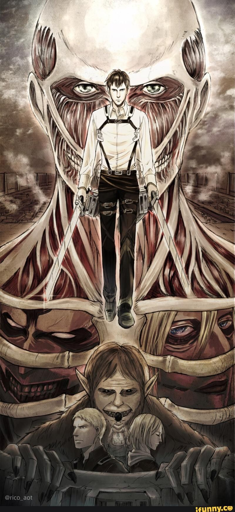 Reiner attack on titan