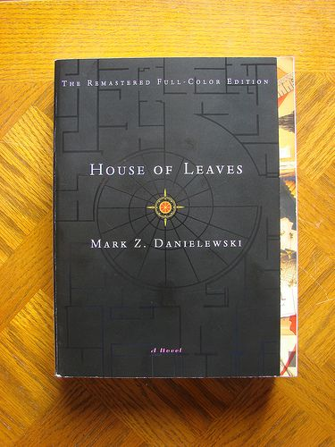Cover of House of Leaves by GregHickman, via Flickr