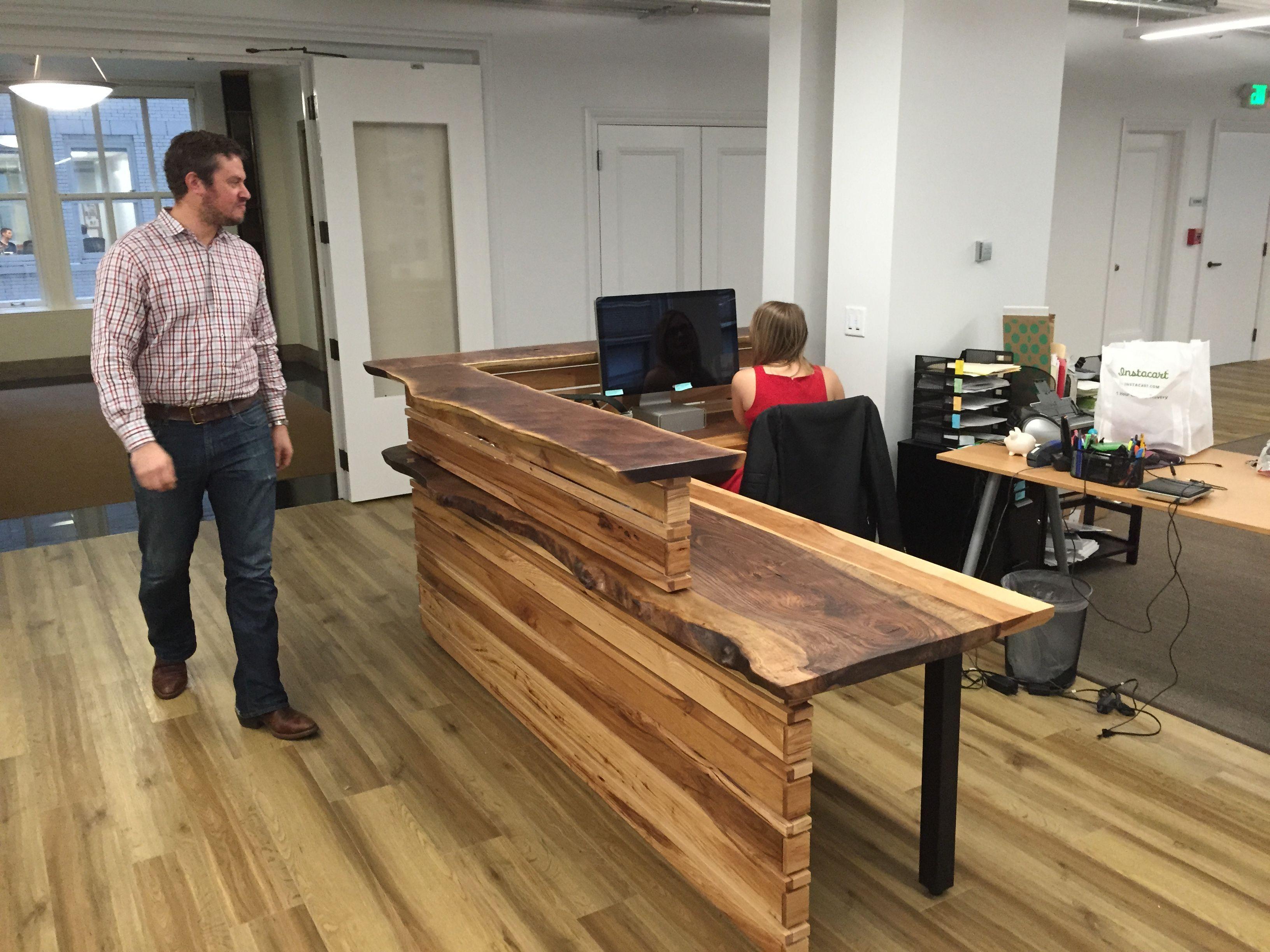 Reception Desk Reception Desk Custom Reception Desk Front Desk Design