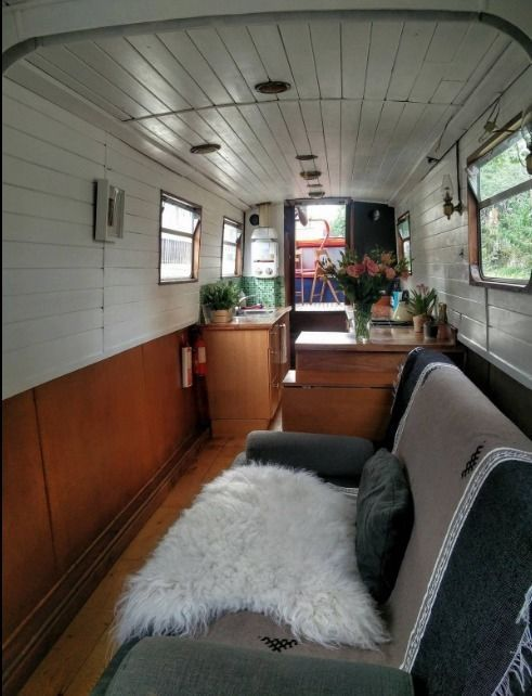 Narrow Boat Canal Boat 60 Ft London Uk In Tottenham London Gumtree Narrowboat Canal Boat Barge Interior