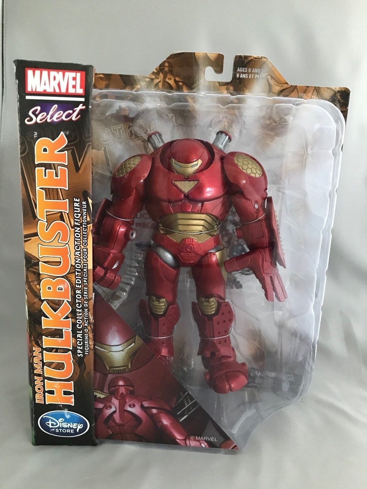 Marvel Select Hulkbuster Special Collector Edition - Disney Store Exclusive https://t.co/PX6Uom7giA #disneystore