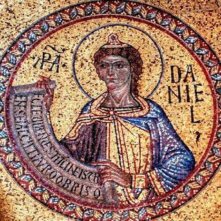 Venezia, Basilica di San Marco, Profeta Daniele, mosaico, XIII sec.