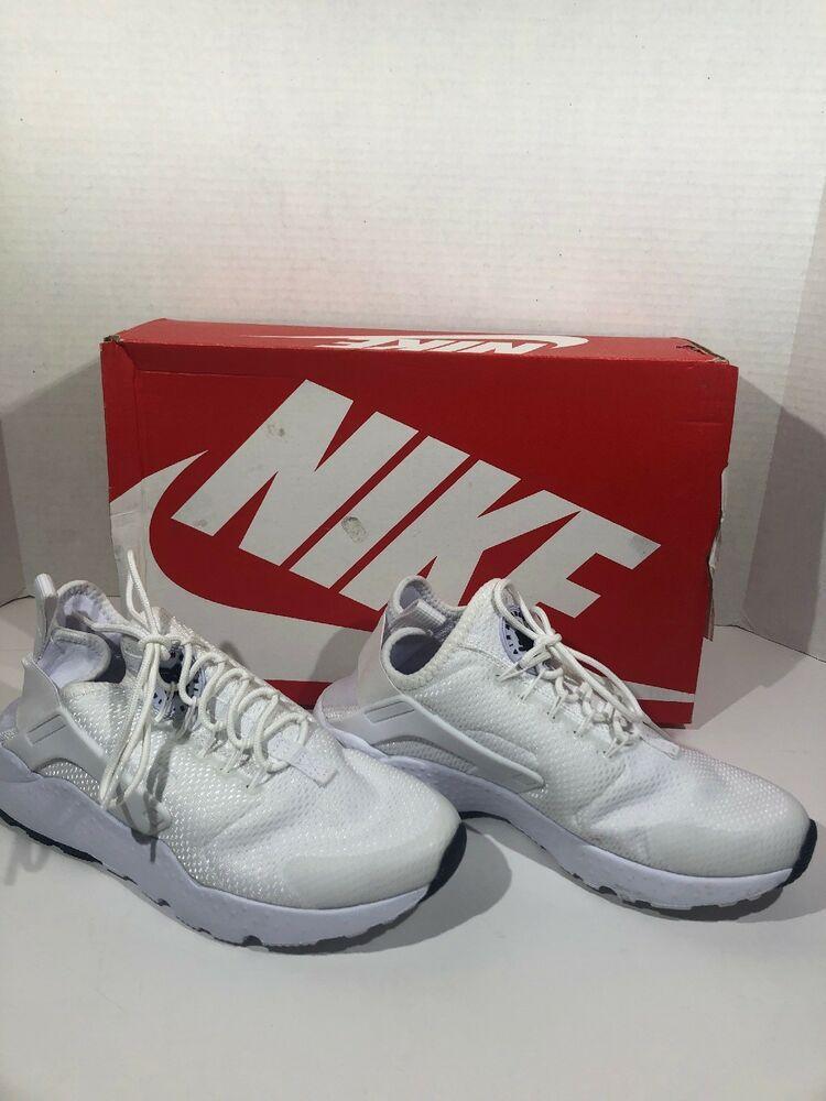 1cb0dbfc8e31 Nike Air Huarache Run Ultra Womens SZ 6.5 White Athletic Sneakers Shoes  ZY-11 -