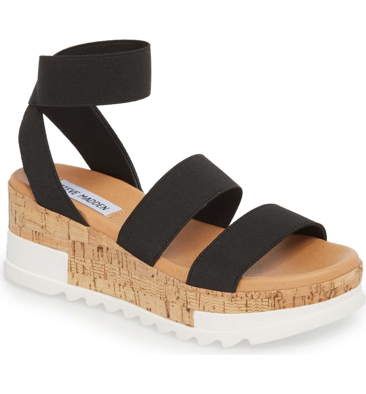 f30d0ea9d12 Bandi Platform Wedge Sandal