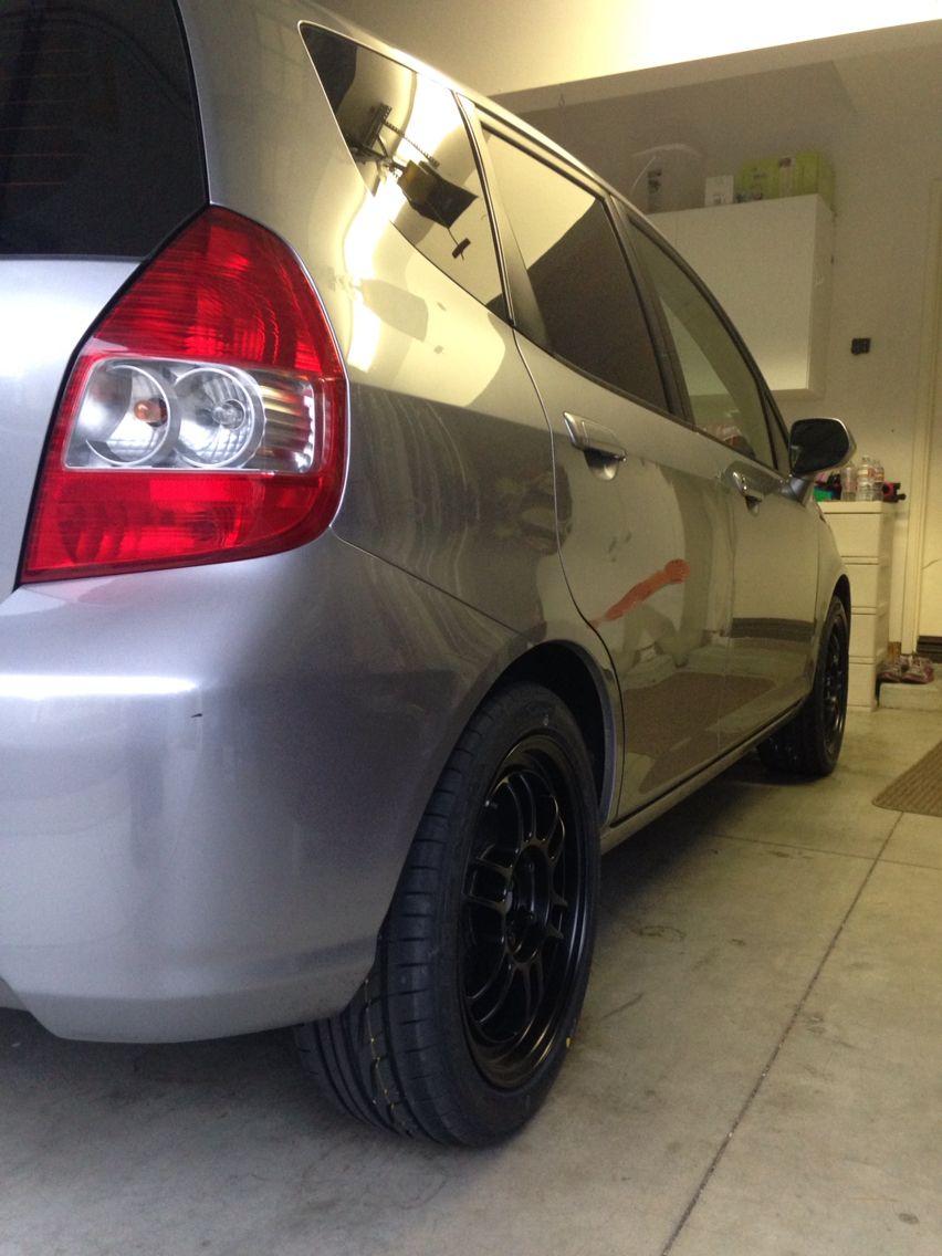 """Enkei RPF1 16""""x7. 205/45/16 Bridgestone Potenza. 2008"""