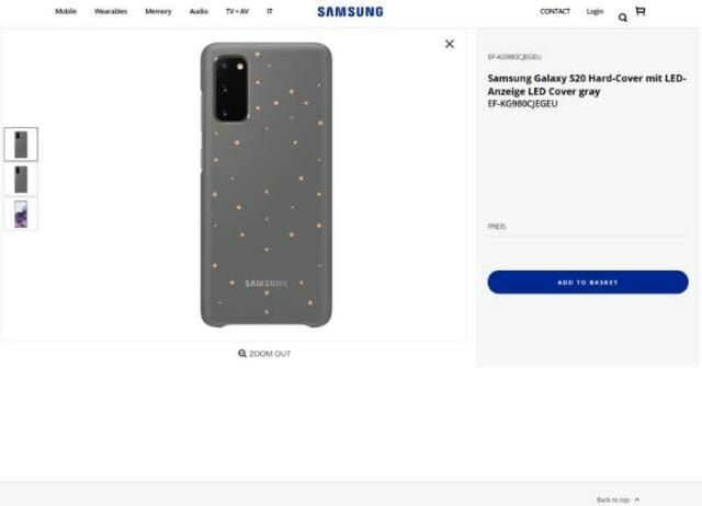 """Samsung """"leaks"""" images of Galaxy S20 in 2020 