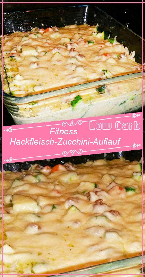 Photo of Fitness minced meat zucchini casserole