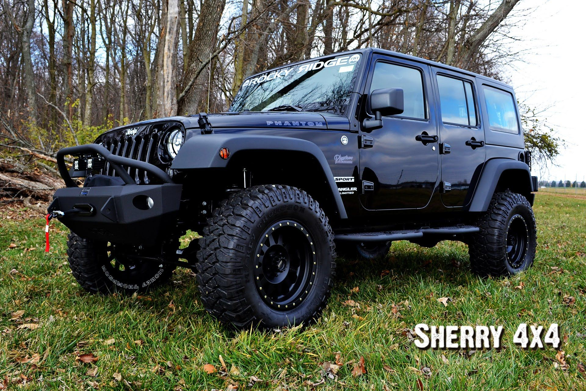 2015 Jeep Wrangler Unlimited Sport Rocky Ridge Phantom