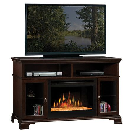 Found It At Wayfair 53 Tv Stand With Glass Ember Electric