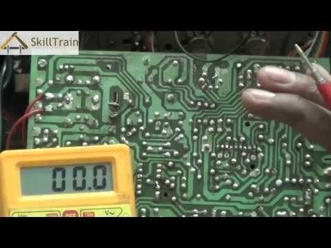 How to test a capacitor / how to test smd capacitors with a