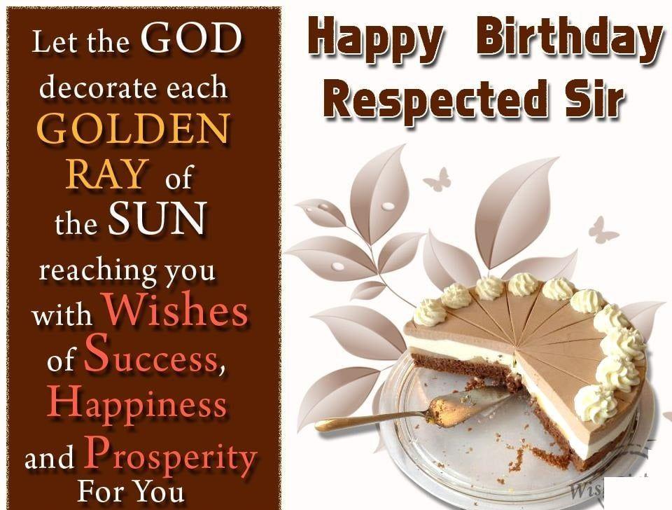 Happy Birthday Sir Wishes Sketches Happy Birthday Sir