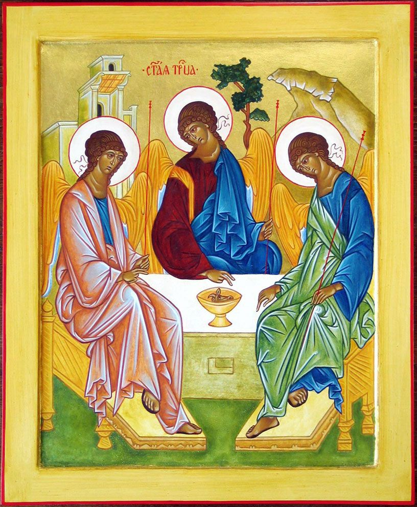 Holy Icon of the Trinity: meaning for the Orthodox