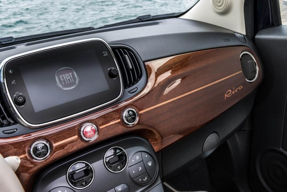 Riva Decks Out Fiat 500 With Images Fiat 500 Fiat Fiat 500c