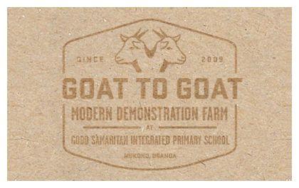 Lejofonds Goat to goat project badge