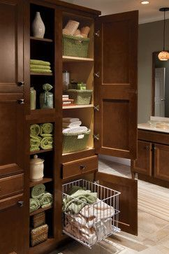 Tall Linen Hamper   Traditional   Hampers   Other Metro   MasterBrand  Cabinets, Inc.