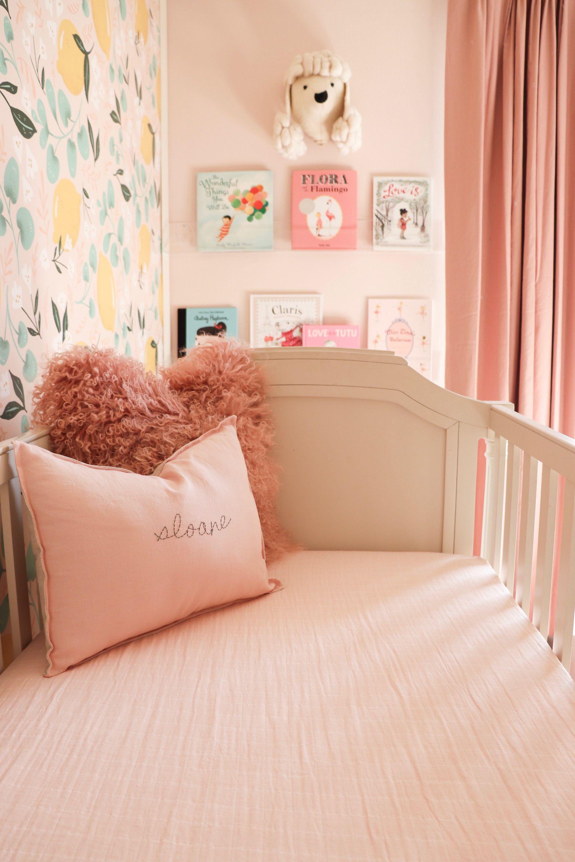 The Sweetest Pink Lemonade Nursery Project Nursery Pink Baby