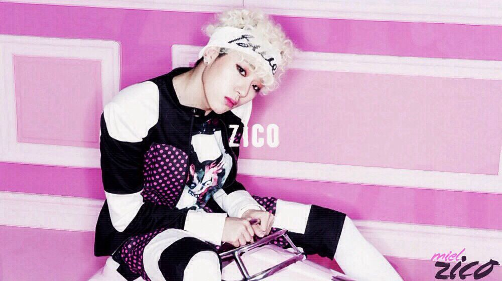 Block B - Zico on Music Bank (cr. MielZico)