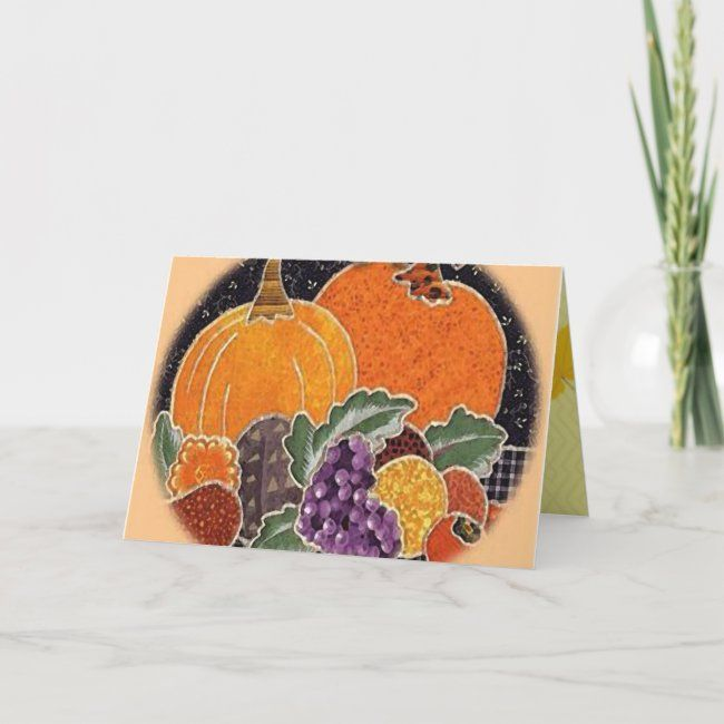 Happy Thanksgiving Yummies Card | Zazzle.com