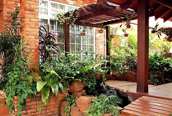 Multifunction pergola design for home entrances indoor outdoor