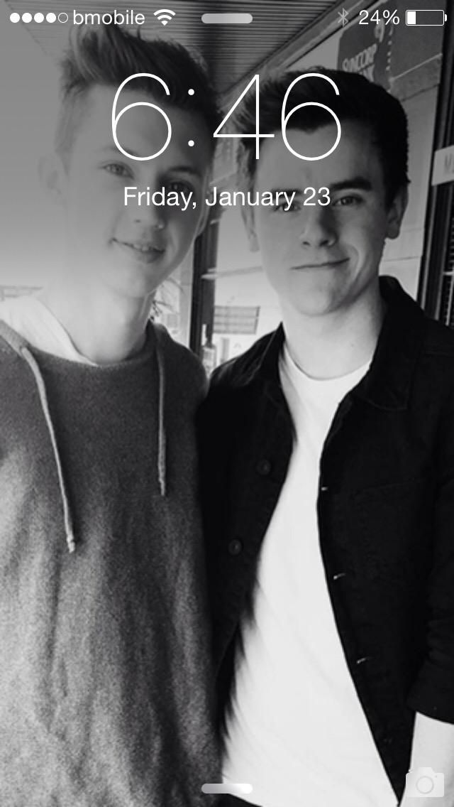 Troye Sivan and Connor Franta . tronnor