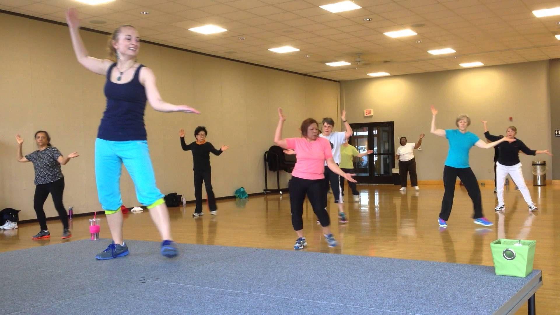 Low impact dance workout