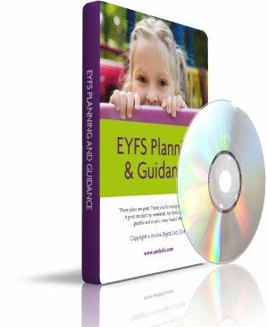 All of the Under5s and Plan2Play EYFS Planning on one disc - includes the Around the Seasons Game and all of the EYFS Guidance - perfect for early years teachers, practitioners, childminders and all early years settings