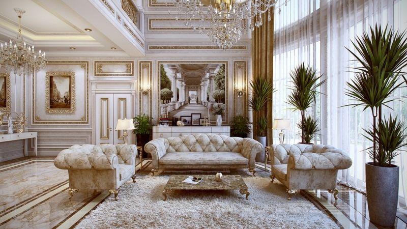 Französische Luxus Einrichtung 5 Edle Wohnung Designs Designs