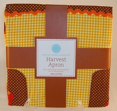 Martha Stewart Collection Fall/thanksgiving Harvest Apron - Brand With Tags