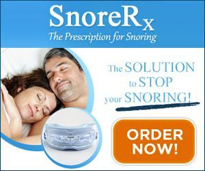 SnoreRx Mouthpiece Device Solution to Stop Snoring