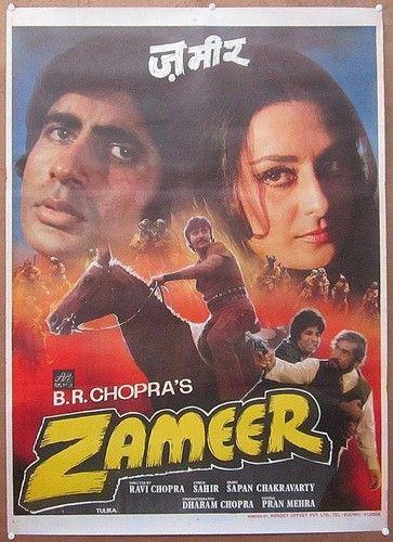 Zameer (1975 film) Zameer 1975 Amitabh Bachchan Bollywood Posters Pinterest