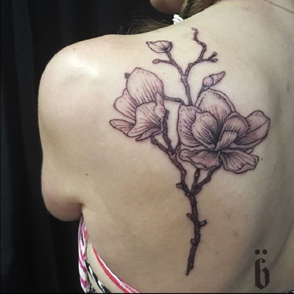 70 Magnolia Flower Tattoo Design Ideas Nenuno Creative Flower Tattoo Designs Flower Tattoo Beautiful Flower Tattoos