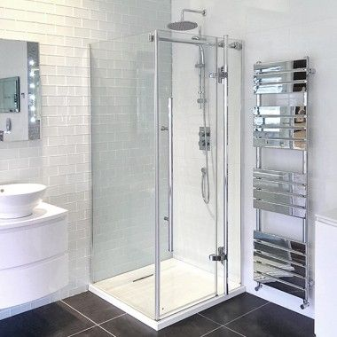 800 Hinged Door Enclosure 199 95 Plus Tray And Shower Shower Enclosure Amazing Bathrooms Walk In Shower Enclosures